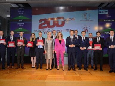 """""""Wprost"""" nagrodził zwycięzców rankingu 200 Największych Polskich Firm 2018"""
