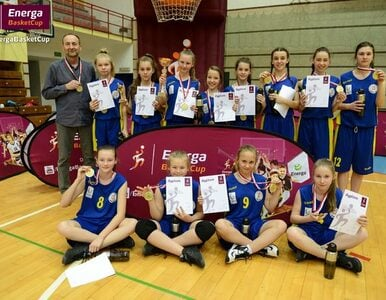 Podwójne koszykarskie złoto dla Krakowa w turnieju Energa Basket Cup