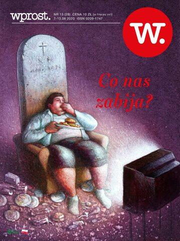 Okładka tygodnika Wprost nr 28/2020 (1944)