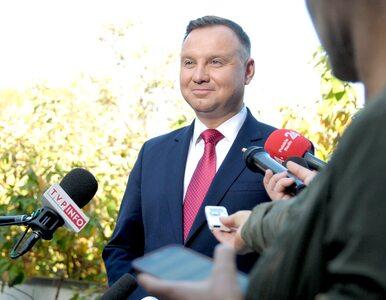 """Andrzej Duda mówi o wyborach i """"spektakularnym wyniku"""" PiS. """"Piękne..."""