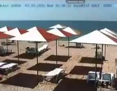"""Pustki na krymskich plażach. """"Magiczna różdżka Putina"""""""