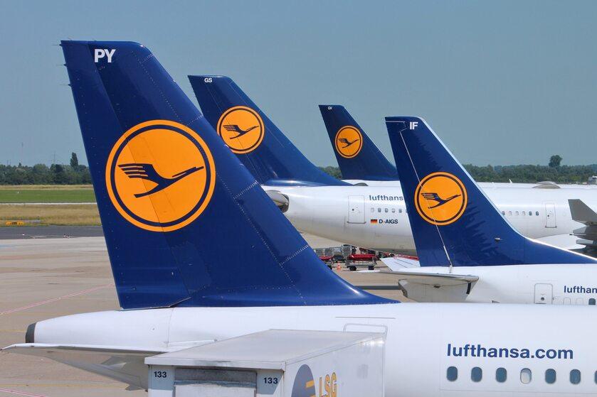 Samoloty Lufthansy
