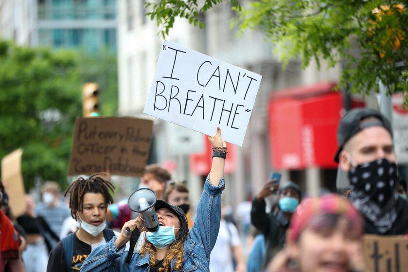 Protest w USA po śmierci George'a Floyda
