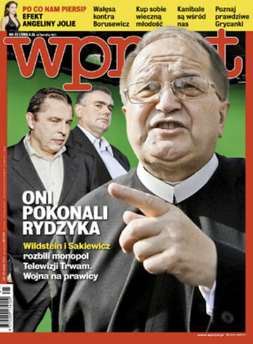 Okładka tygodnika Wprost nr 21/2013 (1578)