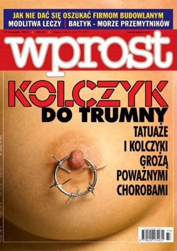 Okładka tygodnika Wprost nr 33/2003 (1081)