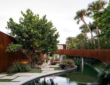 Dom z prywatną laguną