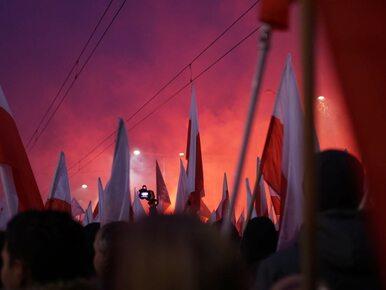 """Niezwykłe zdjęcie z marszu na 100-lecie niepodległości. """"Dziwne..."""