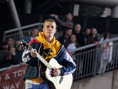 Justin Bieber potrącił fotografa. Wyjeżdżał z kościelnego parkingu