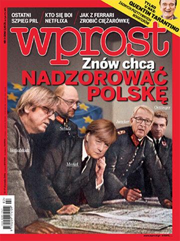 Okładka tygodnika Wprost nr 2/2016 (1719)