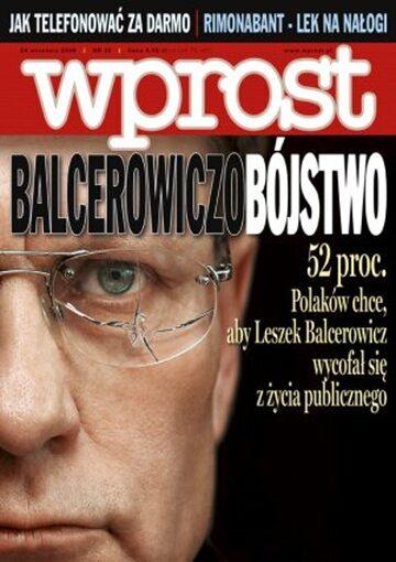 Okładka tygodnika Wprost nr 38/2006 (1240)
