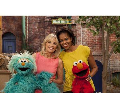 Michelle Obama jakiej nie znacie. Rozmawia z muppetami