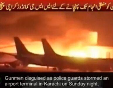 Weszli z karabinami i granatami na lotnisko. Ponad 20 ofiar