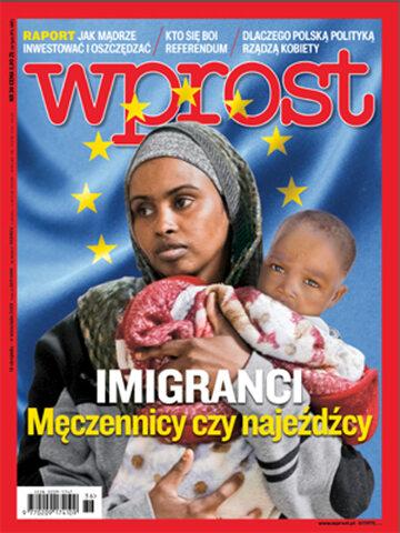 Okładka tygodnika Wprost nr 36/2015 (1695)