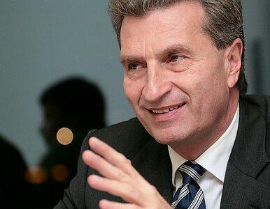 Oettinger chce kontroli wszystkich elektrowni atomowych w UE