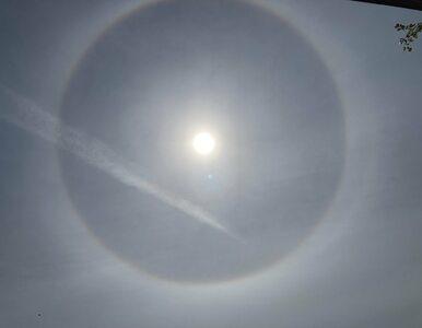 Niezwykłe zjawisko na niebie. Widzieliście efekt halo wokół Słońca?