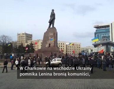 W Charkowie komuniści bronią Lenina