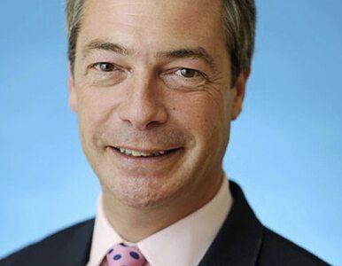 Farage: Jeśli ktoś woli zatrudnić Brytyjczyka niż Polaka, to powinien...
