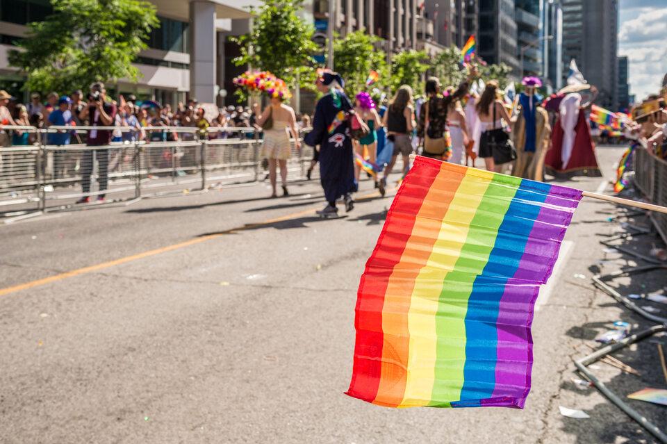 Tęczowa flaga uznana za symbol homoseksualizmu