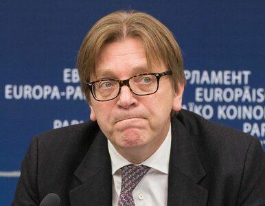 Verhofstadt o karze dla TVN24: To powód, by przyspieszyć wdrażanie...