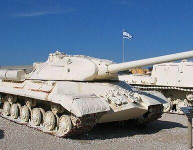 Areszt za spanie w czołgu przy granicy z Gazą