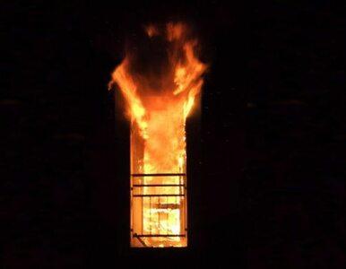 Spłonęły kolejne kamienice w Warszawie