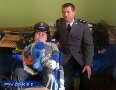 Policja spełniła marzenie kwestującego z WOŚP Łukasza