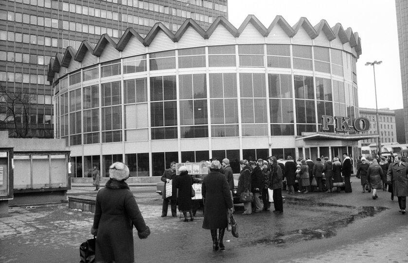 Warszawska Rotunda w 1981 roku
