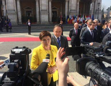 Premier o Deklaracji Rzymskiej: Najważniejsze, że została potwierdzona...