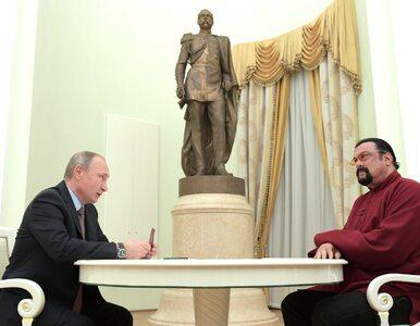 Steven Seagal uznany za zagrożenie dla bezpieczeństwa Ukrainy