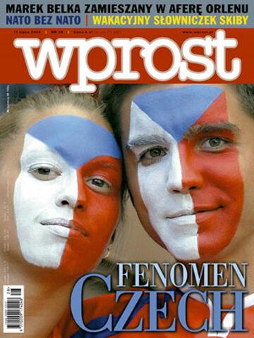 Okładka tygodnika Wprost nr 28/2004 (1128)