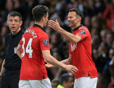 Premier League: United wygrywa, Giggs... sam wpuścił się na boisko