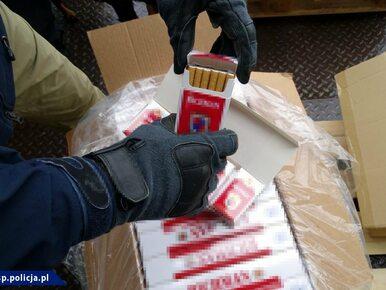 Policja udaremniła gigantyczny przemyt. 18 milionów sztuk papierosów na...