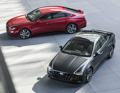 Hyundaie będą wyglądać inaczej. Tak jak nowa Sonata