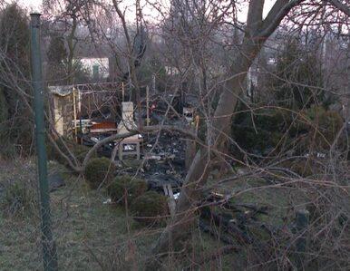 Pożar altany w Katowicach. Nie żyją 4 osoby