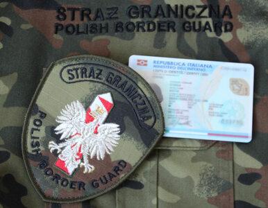 Straż Graniczna o zatrzymanym cudzoziemcu: Żeby udawać Włocha, trzeba...