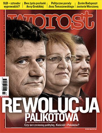 Okładka tygodnika Wprost nr 42/2011 (1497)