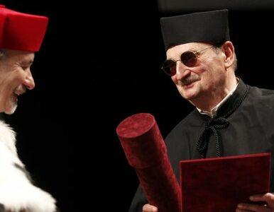 Sławomir Mrożek doktorem honoris causa Uniwersytetu Śląskiego