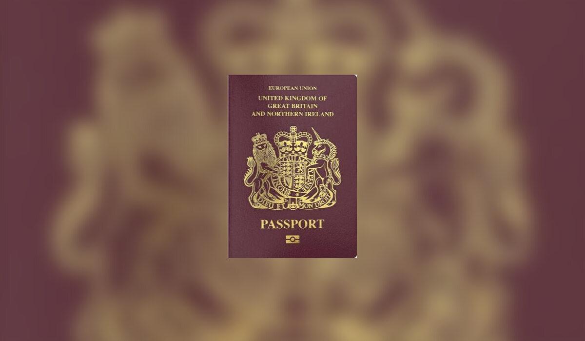 4. Paszport w Wielkiej Brytanii