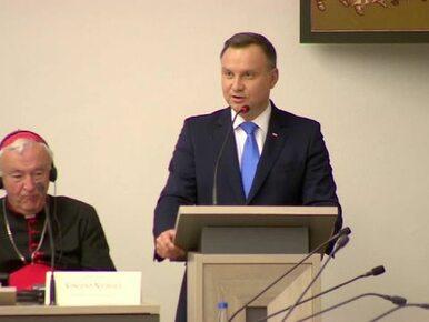 Prezydent Duda na zgromadzeniu Rady Konferencji Episkopatów Europy:...