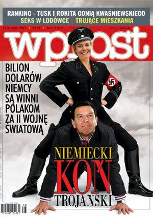 Okładka tygodnika Wprost nr 38/2003 (1086)
