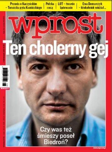 Okładka tygodnika Wprost nr 46/2011 (1501)