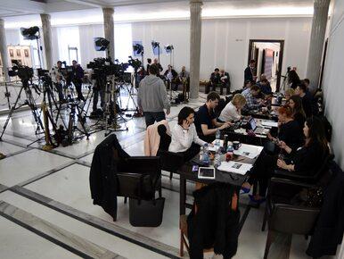 Kancelaria Sejmu odpowiedziała na list szefów mediów ws. ograniczeń...