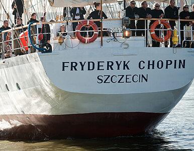 """""""Fryderyk Chopin"""" dopłynął do portu"""