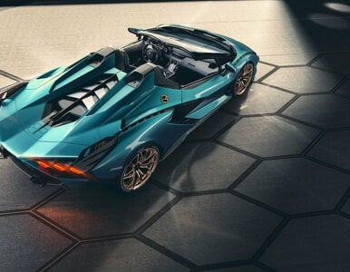 To nie auto, tylko dzieło sztuki. Pokazano Lamborghini Sián w wersji...
