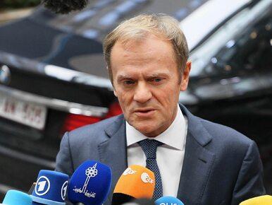"""MSZ krytykuje list Tuska i broni Trumpa. """"Polska nie podziela diagnozy..."""