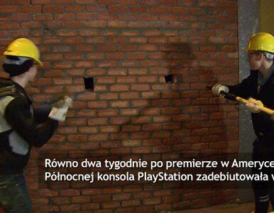 Premiera PS4 w Belgii. Klienci musieli... przebić mur