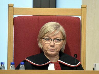 """""""Gazeta Wyborcza"""" pisze o zagadkowej przeszłości prezes TK. Trybunał..."""