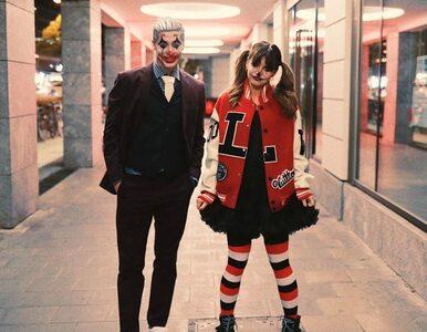 Robert Lewandowski jako Joker. Piłkarz krytykowany za udział w Halloween