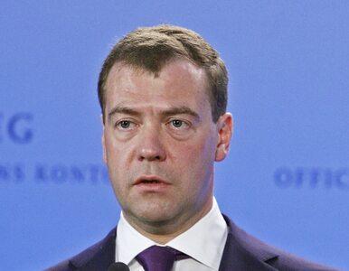 Miedwiediew przesłał Komorowskiemu depeszę z gratulacjami