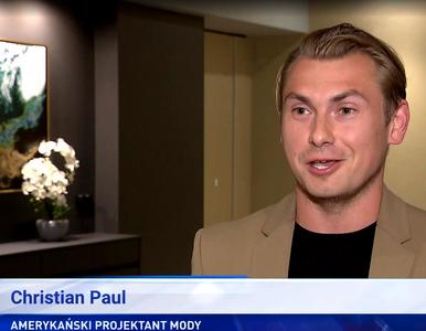 Christian Paul odnalazł się w sieci. Kim jest projektant z materiału...